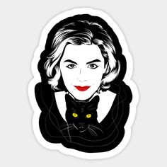 Shop Sabrina sabrina spellman stickers designed by Ddalyrincon as well as other sabrina spellman merchandise at TeePublic. Meme Stickers, Tumblr Stickers, Craft Stickers, Phone Stickers, Printable Stickers, Live Action, Tumblr Drawings, Kiernan Shipka, Netflix