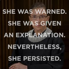 8 Women Who Persisted