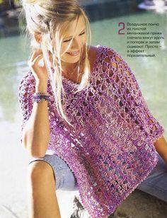 Crochet gold: Beautiful poncho!