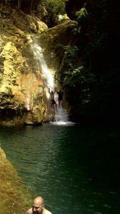 Cascada de javira, trinidad