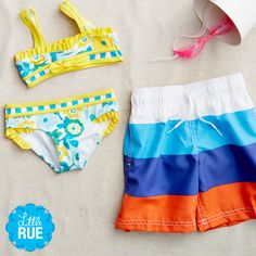 Azul Swimwear Kids. #LittleRue