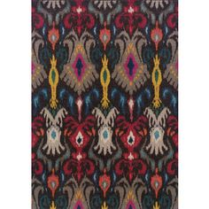 Kaleidoscope Gray/ Multi Polypropylene Area Rug (5'3x7'6) | Overstock.com Shopping - Great Deals on Oriental Weavers 5x8 - 6x9 Rugs