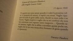 ...Flaubert ...