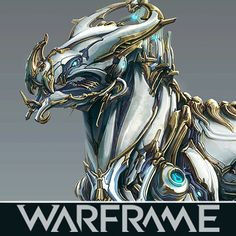 Concept for the Tang Prime Kubrow Skin and Sanzang Kubrow Armor; Warframe Prime, Warframe Art, Warframe Characters, Video Game Backgrounds, Robot Animal, Monster Hunter World, Fantasy Races, Suit Of Armor, Art Memes