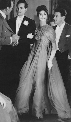 Model Anne St. Marie, 1959. Photo Henry Clarke