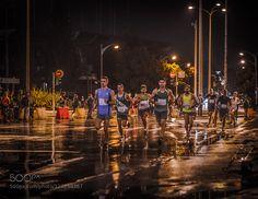 Half Marathon runners by KonstantinosToumparidis #Sports #fadighanemmd