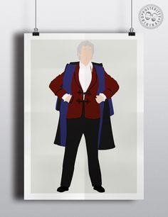 #minimalist #poster #posteritty #fanart #whovian #drwho #doctorwhol #pertwee