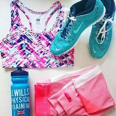 pink fitness wear, What to wear for the gym http://www.justtrendygirls.com/what-to-wear-for-the-gym/