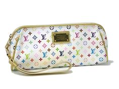 Louis #Vuitton Kate Evening Bag Monogram Multicolor White M55212(BF066132). Authenticity guaranteed, free shipping worldwide & 14 days return policy. Shop more preloved brand items at eLADY: http://global.elady.com