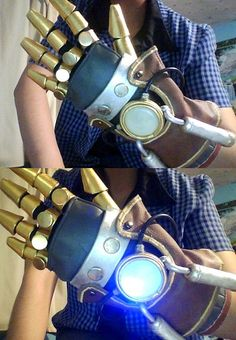 Asami's equalist glove.