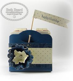 My little craft blog: Two Tags Box & Video