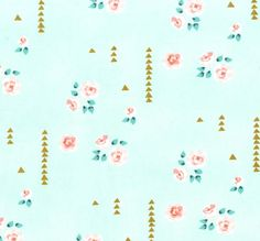 Mint Rosemilk - Brambleberry Ridge by Violet Craft for Michael Miller - By the Yard - Aqua and Metallic Gold Deer and Forest Fabric Tissu Michael Miller, Michael Miller Fabric, Coral Nursery, Nursery Fabric, Baby Fabric, Cotton Fabric, Fabric Remnants, Fabric Scraps, Quilting Fabric