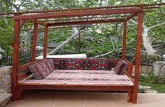 The only picture I can find of a turkish kosk. The only picture I can find of a turkish Outside Seating, Outdoor Seating Areas, Garden Seating, Outdoor Spaces, Moroccan Garden, Persian Garden, Outdoor Pergola, Outdoor Decor, Kids Outdoor Furniture