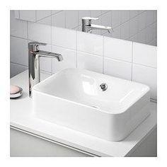 IKEA - HÖRVIK, Malja-allas, , 10 vuoden takuu. Lisätietoja ja takuuehdot takuuvihkosessa.Mukana vesilukko, joka on taipuisuutensa ansiosta helppo liittää viemäriin, pesukoneeseen ja kuivausrumpuun.Vesilukon ainutlaatuisen suunnittelun ansiosta tilaa jää myös vetolaatikolle.Malja-allas viimeistelee kylpyhuoneen tyylikkään ja yksilöllisen ilmeen.