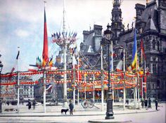 Early Color Photography | So, here it is! The city of love: the streets, the architecture, the ...