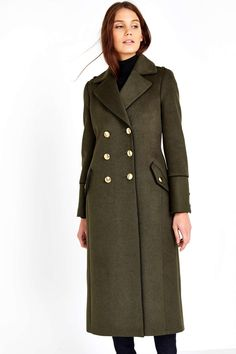 Buy Military Coat online today at Next: Israel | Next - Wishlist ...