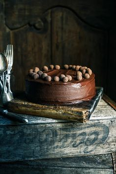 From the Kitchen I The Ultimate Easter Chocolate Cake