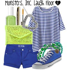 """""""Monsters, Inc. Laugh Floor -- Magic Kingdom"""" by evil-laugh on Polyvore"""