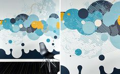Wall Graphics bubbles