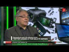 "Twitter børsnoteres – ""sosiale medier med levedyktige forretningsmodeller""."