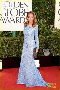 Nicole Richie - Golden Globes 2013 Red Carpet
