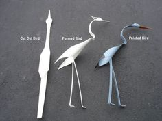 PVC Pipe Birds for the Garden....Instructable