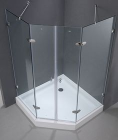 The Neo Angle Frameless Shower is Seriously Stylish