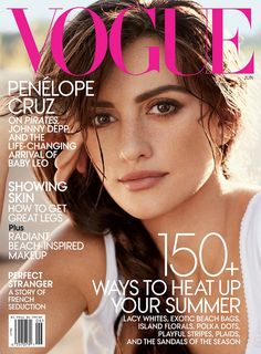 For more on Penélope Cruz, buy the June issue of Vogue.