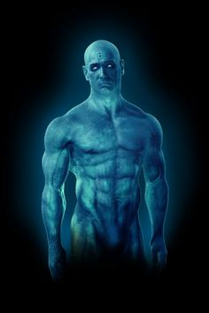 Dr Manhattan Watchmen Android Wallpaper HD