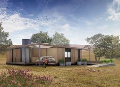 NexusHaus is an affordable, plus-energy house built for the 2015 Solar Decathlon