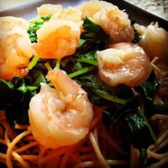 Healthy Shrimp Scampi   Lauren Kelly Nutrition
