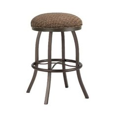 "Callee Americana 26"" Swivel Bar Stool Frame Finish: Sun Bronze, Upholstery: Ford Brown"