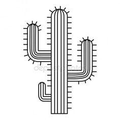 Letöltés - Kaktusz, a sivatagi növény ikon, a vázlat stílusában — Stock Illusztráció #136624636