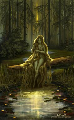 Forest stream by jen-and-kris on DeviantArt