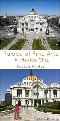 Palace of Fine Arts (Palacio de Bellas Artes) in Mexico City is one of the best and must see attractions in Mexico.  Click link for Facts and Photos - by Christobel Travel  | Ciudad de Mexico | Downtown Mexico City