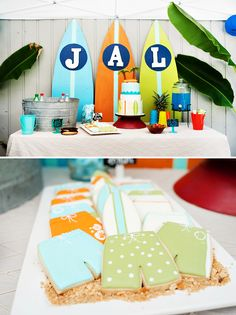 RAD Summer Surf Shack Birthday Party