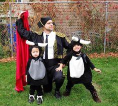 Show and Tell: Baby Bulls and Matador Costumes - Rae Gun Ramblings