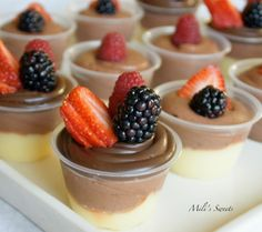 Custard-Mousse cups by Mili