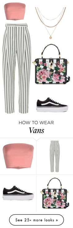 """Untitled #6"" by kyrakid on Polyvore featuring TIBI, Annarita N., Luv Aj, Vans, Dolce&Gabbana and springdresses"