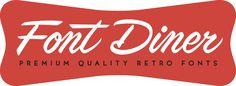 Font Diner - The Best Retro Fonts, Font Sets & Free Fonts