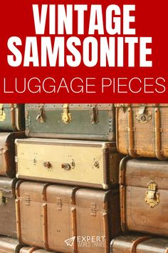 Low Cost Insurance Plan For The Welfare Of Your Loved Ones Samsonite Is One Of The Most Trusted Travel Brands In The World And These Vintage Finds Prove That Their Luggage Will Outlast Any Trend And Stand The Test Of Time. Samsonite Luggage, Luggage Suitcase, Travel Luggage, Father Daughter Dance, Vintage Luggage, World Traveler, First Love, Suitcases, How To Plan