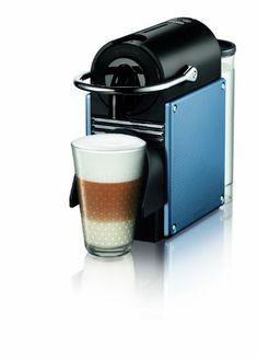 Nespresso Pixie Espresso Maker, Steel Blue >>> Learn more @ http://www.amazon.com/gp/product/B004SQQ7D6/?tag=lizloveshoes-20&prw=010816010541