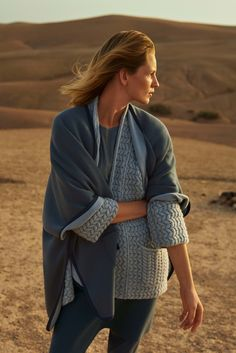 Poncho Reese, cardigan Michelle, leggings Holly, SS17, Marrakesh