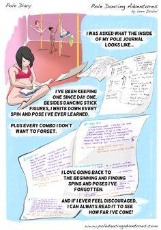 pole journal >> Comics | Pole Dancing Adventures - Part 9