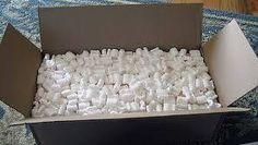 Roslyn Marshall All these horrid styrofoam pellets -