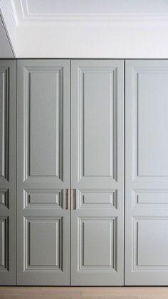 Bedroom Closet Design, Master Bedroom Closet, Wardrobe Design, Built In Wardrobe, Closet Designs, Home Decor Bedroom, Cabinet Door Styles, Cabinet Doors, Door Design