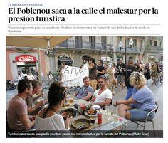 El Poblenou saca a la calle el malestar por la presión turística / @LaVanguardia | #socialcities #socialtravel