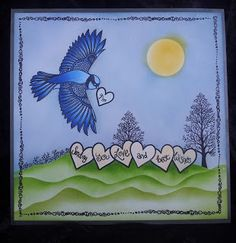 Barnsley Crafter: A Little Bird Told Me
