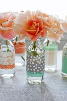 decoradas botellas