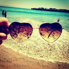 See things through rose tinted glasses, #summer is on its way.